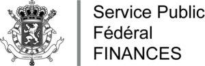 Logo représentant le service public fédéral finances